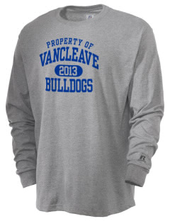 Vancleave High School Bulldogs  Russell Men's Long Sleeve T-Shirt