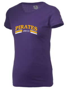 Mount Olive Attendence Center Pirates  Russell Women's Campus T-Shirt