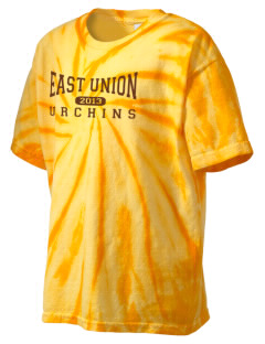 East Union Attendance Center Urchins Kid's Tie-Dye T-Shirt
