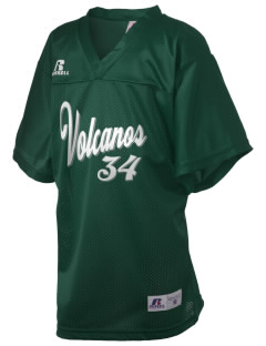 Chester Elementary School Volcanos Russell Kid's Replica Football Jersey