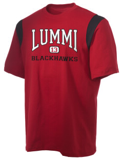 Lummi Nation School Blackhawks Holloway Men's Rush T-Shirt