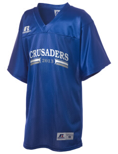 Community Christian School Crusaders Russell Kid's Replica Football Jersey