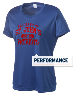 Saint John's Lutheran School Patriots Women's Competitor Performance T-Shirt