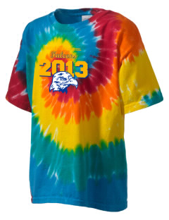 Heritage Christian School Falcons Kid's Tie-Dye T-Shirt