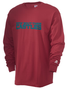 Camelot School Castles  Russell Men's Long Sleeve T-Shirt