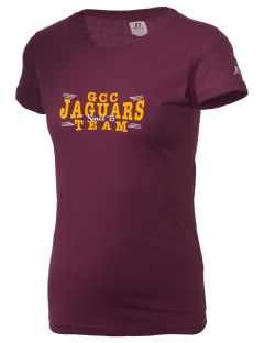 Grove City Christian School Jaguars  Russell Women's Campus T-Shirt