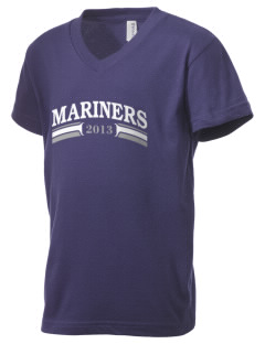 Pacific Harbor Christian School Mariners Kid's V-Neck Jersey T-Shirt
