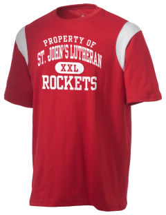 St. John's Lutheran School Rockets Holloway Men's Rush T-Shirt