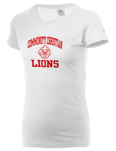 Community Christian School Lions  Russell Women's Campus T-Shirt
