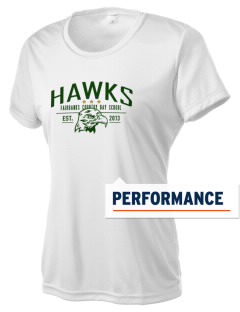 Fairbanks Country Day School Hawks Women's Competitor Performance T-Shirt