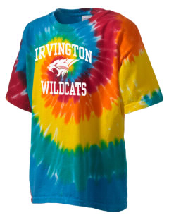 Irvington Elementary School Wildcats Kid's Tie-Dye T-Shirt