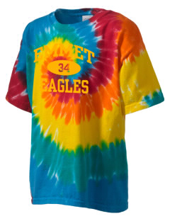 Emmet Schools Eagles Kid's Tie-Dye T-Shirt