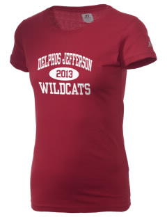 Delphos Jefferson Middle School Wildcats  Russell Women's Campus T-Shirt