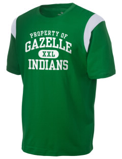 Gazelle Elementary School Indians Holloway Men's Rush T-Shirt