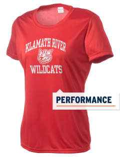 Klamath River Elementary School Wildcats Women's Competitor Performance T-Shirt
