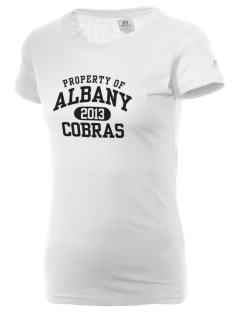 Albany Middle School Cobras  Russell Women's Campus T-Shirt