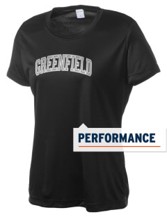 Greenfield Elementary School Wolverines Women's Competitor Performance T-Shirt