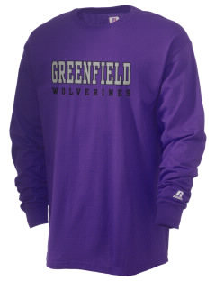 Greenfield Elementary School Wolverines  Russell Men's Long Sleeve T-Shirt