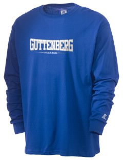 Guttenberg Elementary School Pirates  Russell Men's Long Sleeve T-Shirt