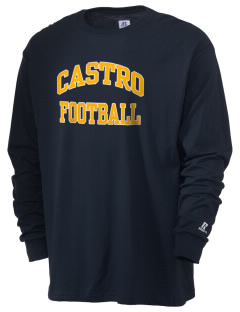 Castro Elementary School Dolphins  Russell Men's Long Sleeve T-Shirt