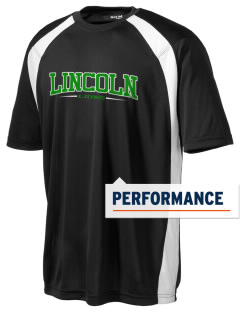 Lincoln Elementary School Lions Men's Dry Zone Colorblock T-Shirt