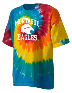 Montague Elementary School Eagles Kid's Tie-Dye T-Shirt