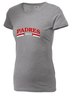 Carmel High School Padres  Russell Women's Campus T-Shirt