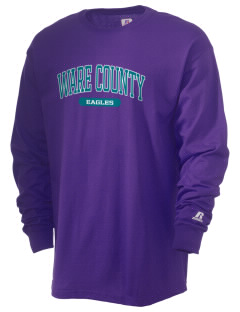 Ware County Magnet School Eagles  Russell Men's Long Sleeve T-Shirt