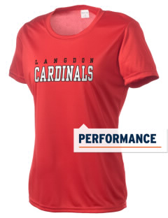 Langdon Area Elementary School Cardinals Women's Competitor Performance T-Shirt