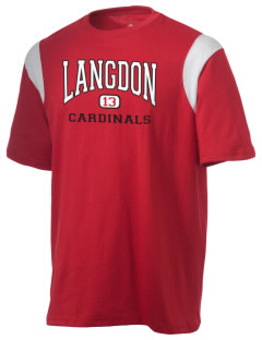 Langdon Area Elementary School Cardinals Holloway Men's Rush T-Shirt