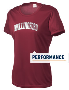 Wallingford Elementary School Wildcats Women's Competitor Performance T-Shirt