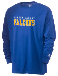 Garden Valley Elementary School Falcons  Russell Men's Long Sleeve T-Shirt