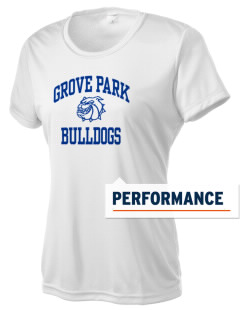 Grove Park Elementary School Bulldogs Women's Competitor Performance T-Shirt