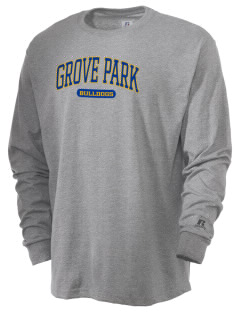 Grove Park Elementary School Bulldogs  Russell Men's Long Sleeve T-Shirt