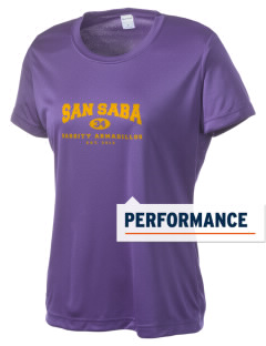 San Saba Intermediate School Armadillos Women's Competitor Performance T-Shirt