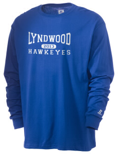 Lyndwood Elementary School Hawkeyes  Russell Men's Long Sleeve T-Shirt