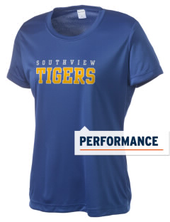 Southview Elementary School Tigers Women's Competitor Performance T-Shirt