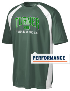 Turner High School Tornadoes Men's Dry Zone Colorblock T-Shirt