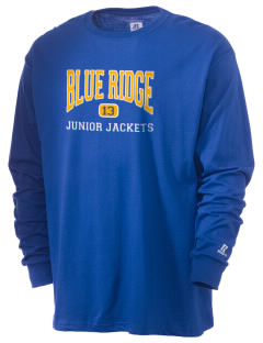 Blue Ridge Middle School Junior Jackets  Russell Men's Long Sleeve T-Shirt