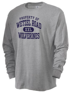 Wetzel Road Elementary School Wolverines  Russell Men's Long Sleeve T-Shirt
