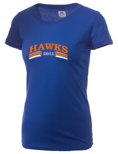 Hoffman Estates High School Hawks  Russell Women's Campus T-Shirt