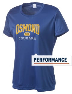 Osmond Elementary School Cougars Women's Competitor Performance T-Shirt