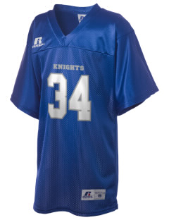 Juneau Christian School Knights Russell Kid's Replica Football Jersey