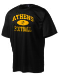 Play like a pro in this Athens High School t-shirt made with Dri-Mesh moisture management fabric. The double-layer poly-mesh wicks and releases perspiration to keep you comfortable and presentable in even the most active circumstances.