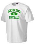 Play like a pro in this Gordo High School t-shirt made with Dri-Mesh moisture management fabric. The double-layer poly-mesh wicks and releases perspiration to keep you comfortable and presentable in even the most active circumstances.