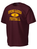 Play like a pro in this Spring Garden High School t-shirt made with Dri-Mesh moisture management fabric. The double-layer poly-mesh wicks and releases perspiration to keep you comfortable and presentable in even the most active circumstances.