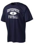 Play like a pro in this Enterprise High School t-shirt made with Dri-Mesh moisture management fabric. The double-layer poly-mesh wicks and releases perspiration to keep you comfortable and presentable in even the most active circumstances.