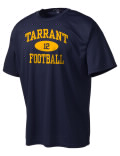 Play like a pro in this Tarrant High School t-shirt made with Dri-Mesh moisture management fabric. The double-layer poly-mesh wicks and releases perspiration to keep you comfortable and presentable in even the most active circumstances.