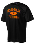 Play like a pro in this McGill-Toolen High School t-shirt made with Dri-Mesh moisture management fabric. The double-layer poly-mesh wicks and releases perspiration to keep you comfortable and presentable in even the most active circumstances.