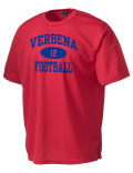 Play like a pro in this Verbena High School t-shirt made with Dri-Mesh moisture management fabric. The double-layer poly-mesh wicks and releases perspiration to keep you comfortable and presentable in even the most active circumstances.